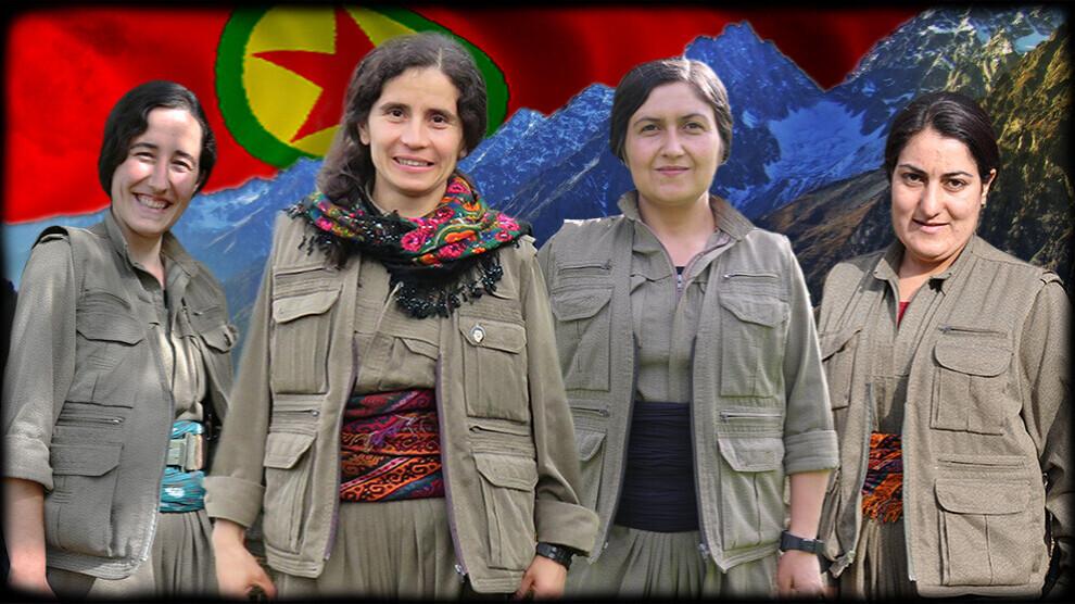 چهار زن کُرد در درگیری پ.ک.ک با ارتش ترکیه کشته شدند - دیدبان حقوق بشر  کردستان ایران